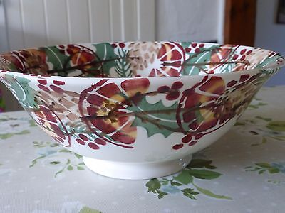 Emma Bridgewater 'holly Wreath' Serving Bowl - New/1St