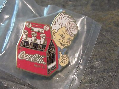 Vintage Coca Cola Pin 6 pack