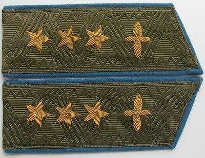 Shoulder-straps of General Colonel of the Soviet air force 1958 type, Replica