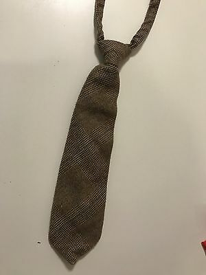 Preowned Gymboree Tweed Velcro Tie Boys Youth