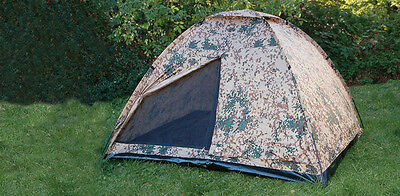 3 Person Army Tent three Man BW Tropics German armed forces Tropical camouflage