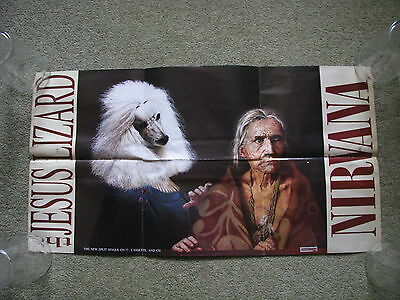 NIRVANA - Oh The Guilt Promo Poster - Rare!