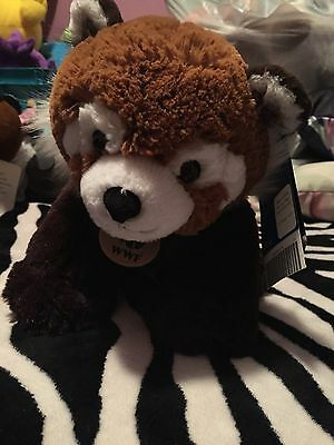 Red Panda Build A Bear NWT WWF