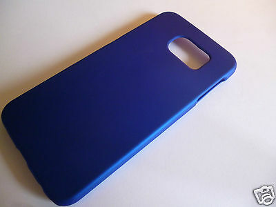 Samsung Galaxy S6 Blue Shell Hard Protective Satin Case - Ex Display by Z-TECH