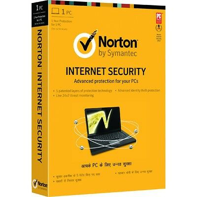 Norton NIS 2017 latest Internet Security 1yr 1pc