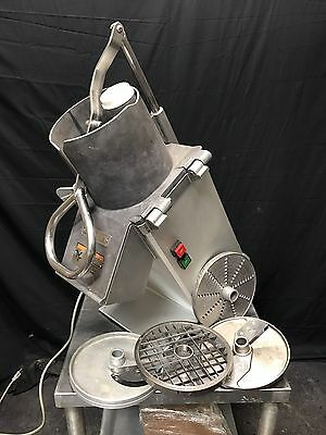 *CLEAN* Hobart FP350 Continuous Feed Food Processor W/ 5 Blades!