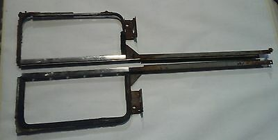 1955 1956 1957 Chevy vent window frame set hardtop & convertible wing