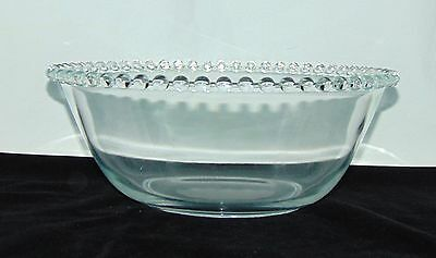 "Rare**Imperial CANDLEWICK CRYSTAL *11"" DEEP STRAIGHT SIDED BOWL*"