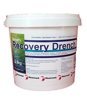 Ranvet Recovery Drench Powder 2.5kg
