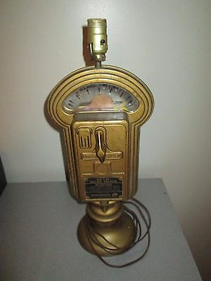 "Vintage Parking Meter Lamp 20"" No Key Working"