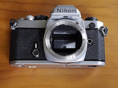 "NIKON FM 35mm Film SLR Camera Body Only......"" As Good As They Get """