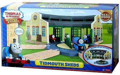 Thomas The Tank Engine Wooden Railway Roundhouse Tidmouth Sheds Brand New