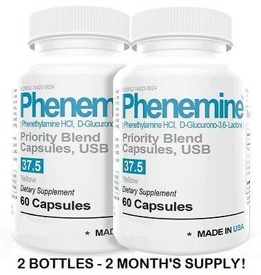 2CT Phenemine Lose Weight Loss Fast Diet Pills Best Curve Appettite Suppressant