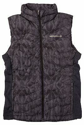 Merrell Connectivity 800 Fill Down Puffer Vest (Packable) Black Large - 50% OFF
