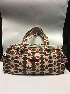 Bungalow 360 Adorable Hedgehog Satchel Purse. ÜBER CÜTE All Natural Canvas NWOT