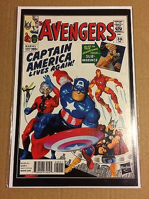 The Avengers #36 Incentive Hasbro Variant Cover (NM 9.4) *** HOT ***
