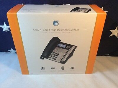 AT&T 1070 4-Line Corded Speaker Expandable Wall DSL Compatible phone Caller ID