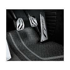 Pedal Set Stainless Steel Genuine BMW M Performance Manual 35002232277