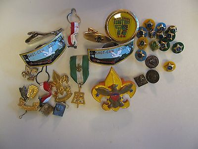 Vintage 1970's Boy Scouts BSA Lot of Pins and Badges Cub Scout