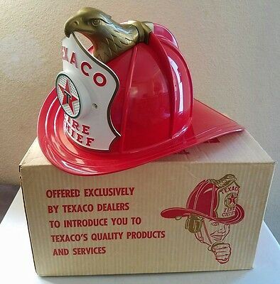 TAXACO FIRE CHIEF HAT/Vintage Chief Hat