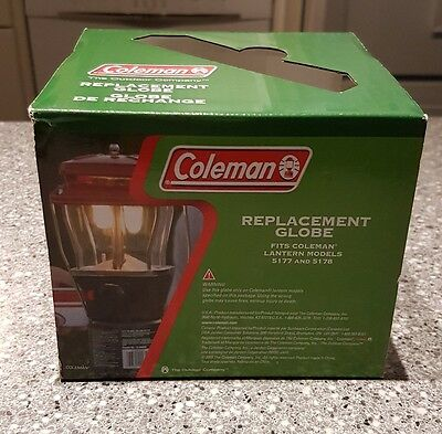 Coleman replacement globe - fits models 5177 & 5178 - glass.