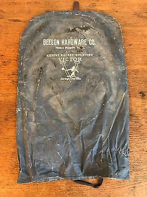 "Vintage Beeson Hardware Co. ""Victor"" Tennis Racquet Racket Head Cover (HD9)"