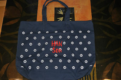 RARE BRAND NEW Hanson BLUE LOGO Bag!
