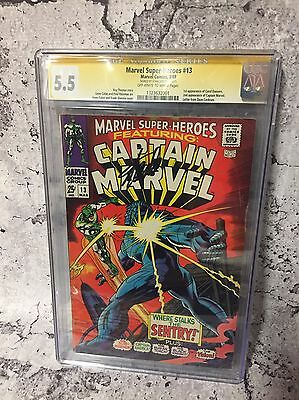 Marvel Super heroes 13 First Appearance Carol Danvers Captain Marvel Cgc Ss 5.5