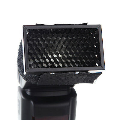 Universal Honeycomb Cover Speed Grid for Flash External Camera Flash Diffuser