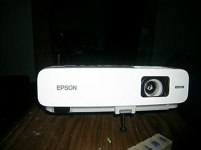 Epson PowerLite 826W Projector LCD no remote