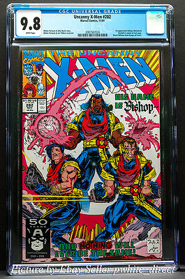 The Uncanny X-Men #282, CGC: 9.8, (Nov 1991, Marvel)