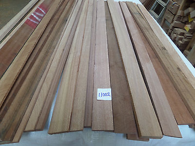 hardwood timber sapele 38 lengths @ various sizes (11002BR) off cuts