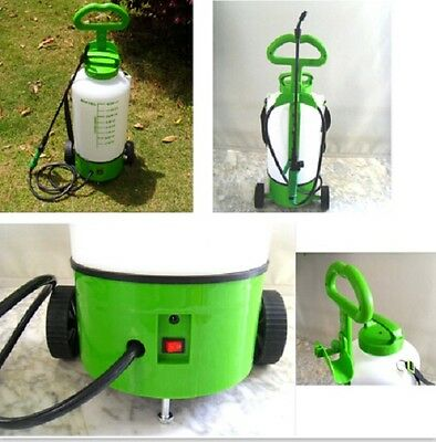 Battery Operated Powered Cordless Rechargeable Garden Sprayer with 3 nozzles