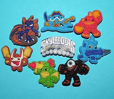Skylanders Shoe Decorations 8 Cake Cupcake Piñata Toys Party Favours Charms NEW