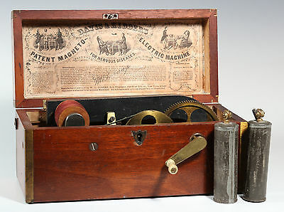 Working 19th Century Davis and Kidder Electric Machine Quack Medicine Device