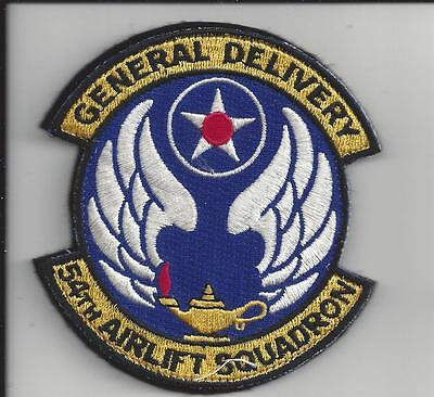 """Patch Usaf 54Th Airlift Sq As Wright Patterson  Afb 3 1/2"""""""