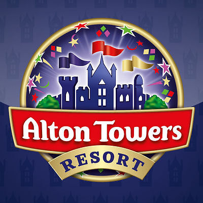 2 tickets alton tower 20/06/2017