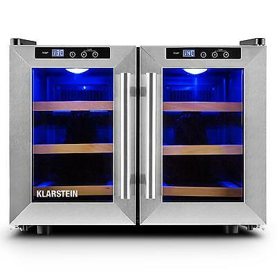 Klarstein Bar Saloon 40L Beer & Wine Refrigerator 12 Bottle Fridge