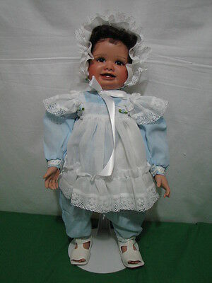"Virginia Ehrlich Turner ""suzette"" Doll 1992 Limited Edition 250 24"" Tall"
