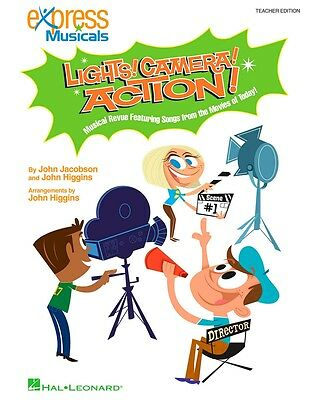 Hal Leonard Lights! Camera! Action! Musical Revue Songs Movies of Today! CD