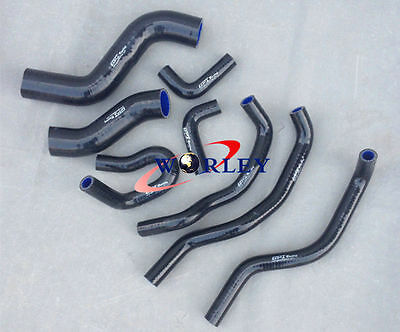 Silicone Radiator Hose Kit For TOYOTA Hilux KUN26R SR & SR5 3.0L 2005-2014 BLACK