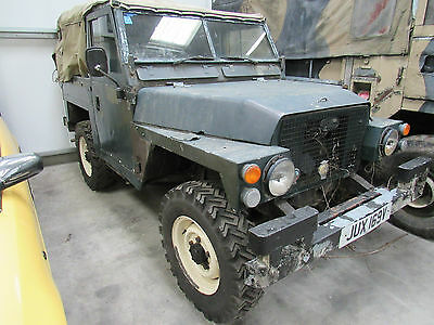 Land Rover Lightweight  With Trailer