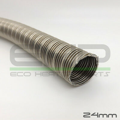 Eberspacher Exhaust Pipe Stainless Steel 24mm Flex Per Meter 1m Lengths 36061296