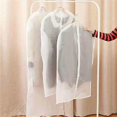 Clothes Garment Cover Bags Dustproof Breathable Coat Suit Storage Protector New