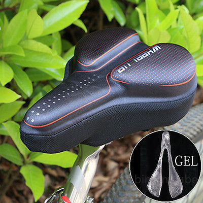 Cycling MTB Road Mountain Bike Bicycle Saddle Seat Soft Gel Padded Cushion Cover
