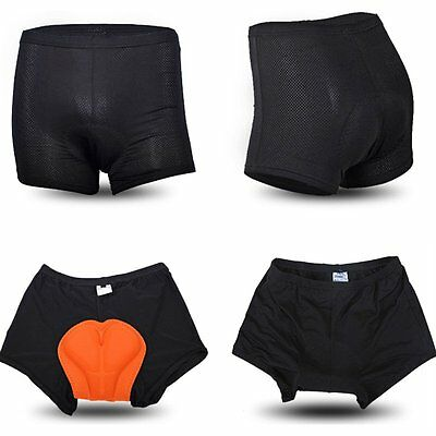 Men's 3D Padded Bicycle Cycling Gel Bike Workout Sports Short Pants Underwear AU