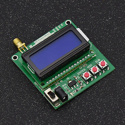 Digital LCD RF Power Meter -75-16 dBm 1-600MHz Backlight Detection Equipment