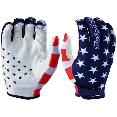 NEW Troy Lee Designs 2018 Mx Gear Air Americana Navy Red TLD Motocross Gloves