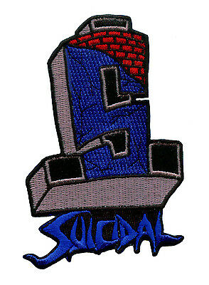 SUICIDAL TENDENCIES - Official FLS Cover Embroidered PATCH - Punk Dogtown