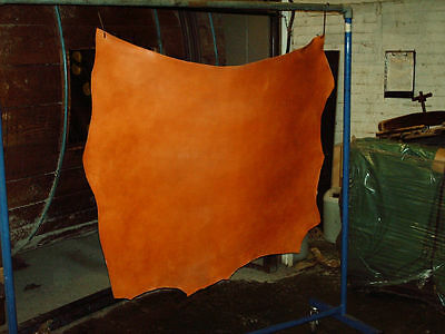 Leather Hide Skin Bridle Shoulder Tan 3mm